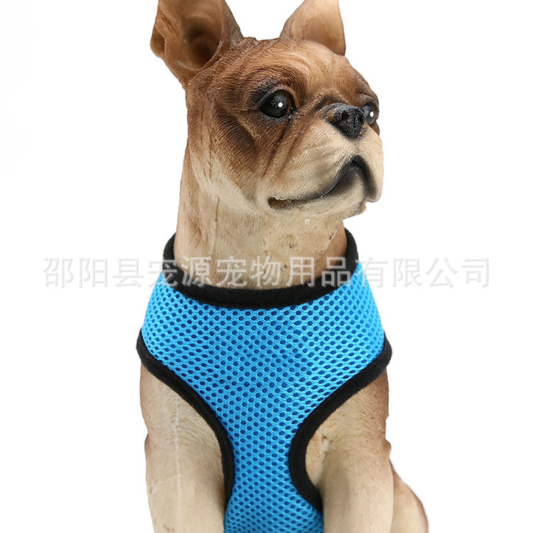 Pet Source Sandwich Dog Chest Strap Breathable Mesh Pet's Chest-back Dog Chest And Back Small And Medium-sized Dogs