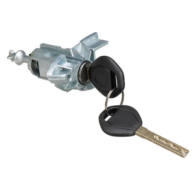 ซ้ายประตูล็อคกระบอกสูบพร้อม 2 กุญแจสำหรับBMW X5 E53 2000 2001 2002 2003 2004 2005 2006 51217035421