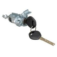 Left Driver Door Lock Cylinder Barrel Assembly With 2KEYS For BMW X5 E53 2000 2001 2002 2003 2004 2005 2006 51217035421