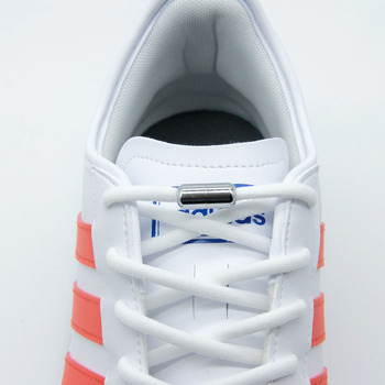 1 para nowe elastyczne buty sznurowadła okrągłe sznurówki których nie trzeba wiązać dla dzieci i trampki dla dorosłych sznurowadła szybkie leniwe sznurowadła 16 kolorów sznurowadła tanie i dobre opinie LEEPO CN (pochodzenie) Stałe No tie Shoelaces XD011 COTTON No Tie Shoe laces Elastic Shoelaces