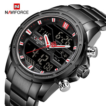 NAVIFORCE 2020 New Watches Men LED Digital Military Sport Quartz Watch Waterproof Clock Luxury Wristwatch Male Relogio Masculino