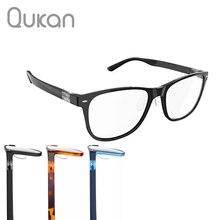 Qukan B1/W1 Photochromic Anti Blue Ray ป้องกันแว่นตาที่ถอดออกได้ฟ้ารังสีป้องกันรุ่นปรับปรุง