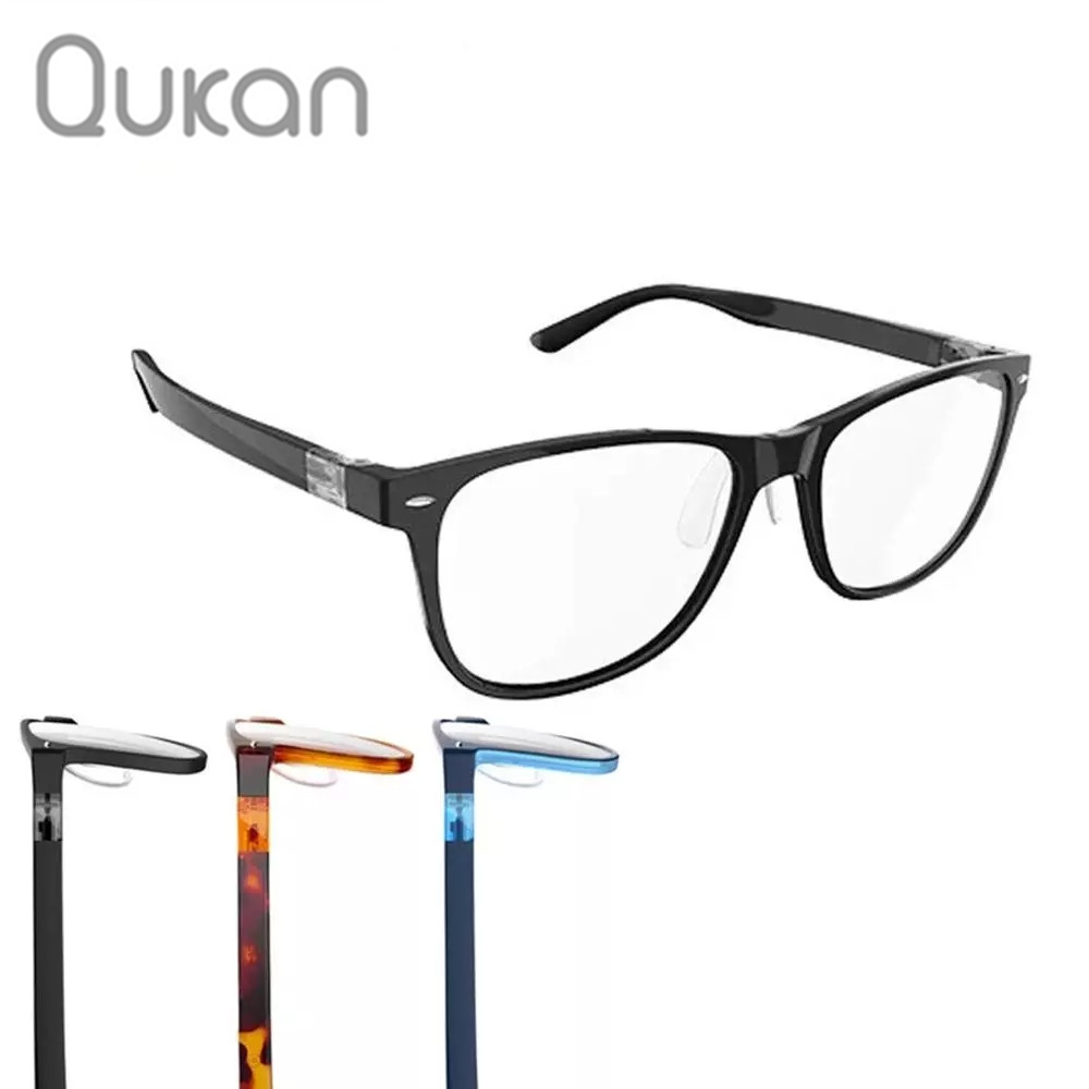 Qukan B1 W1 Photochromic Anti Blue ray Protect Glasses Detachable Anti-blue-rays Protective Glass Updated Version