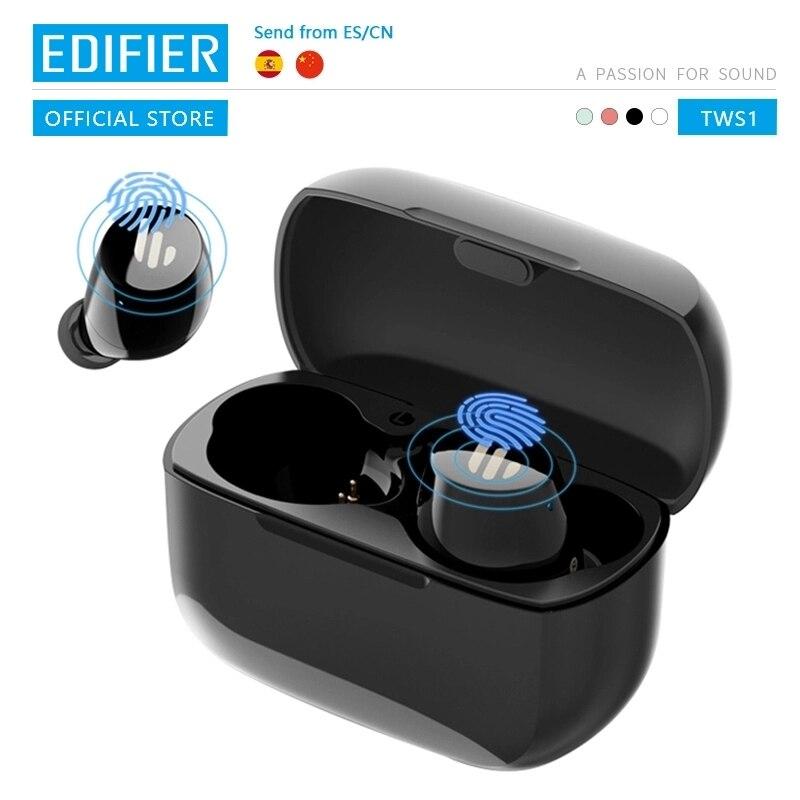 EDIFIER TWS1 wireless earphones bluetooth 5.0 aptX Touch control IPX5 Ergonomic design wireless earphones Bluetooth earphone|Phone Earphones & Headphones| - AliExpress