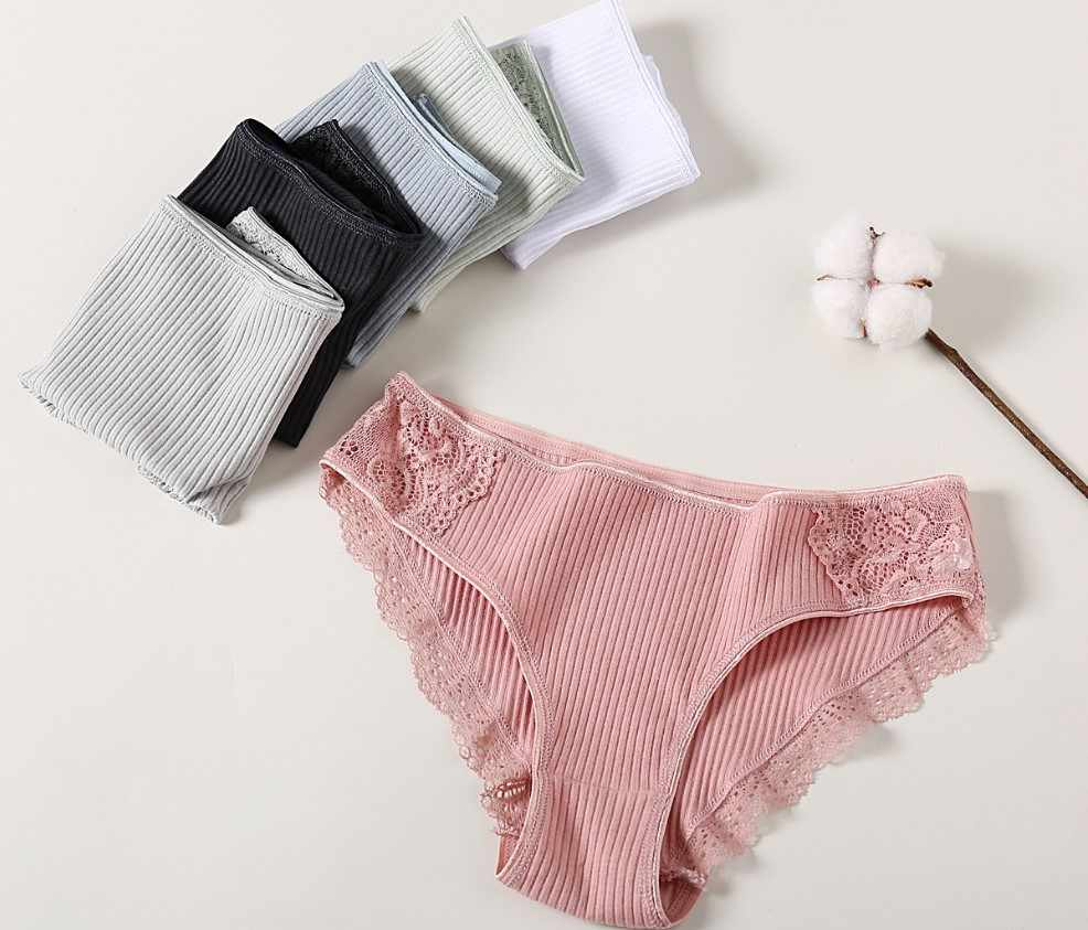 Cotton Quần 3 Cái/lốc Chắc Chắn Quần Lót Nữ Quần Lót Thoải Mái Underpant Thân Thiện Với Làn Da Quần Đùi Sexy Nữ Eo Thấp quần Lót