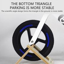 Toys Stand-Holder Kickstand Parking-Bike Kids Wood for Boys Balance Portable