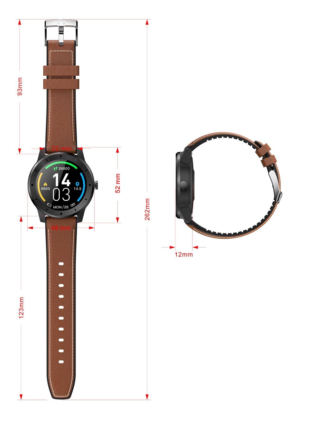 cardíaca smartwatch chamada mensagem lembrete bluetooth música para android ios