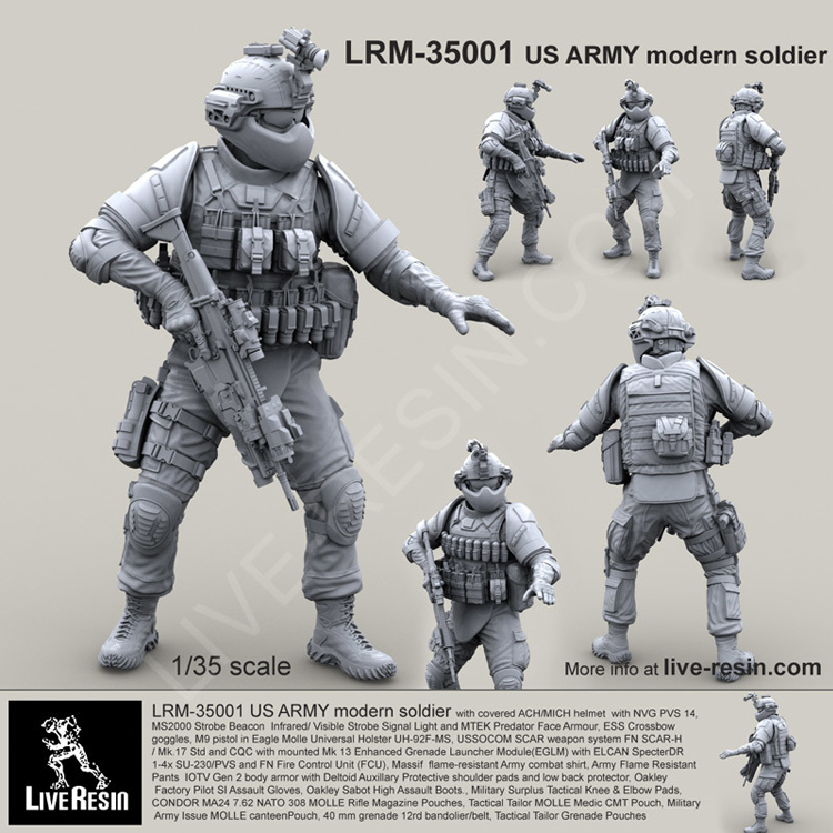 1/35 смола фигурка солдат военная модель армии США современный Солдат 1 234