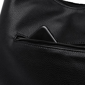Image 5 - Fashion Green Suede & PU Leather Female Shoulder Bags Women Leather Handbag Designer Large Ladies Hobos Bag For Mother Hand Bags