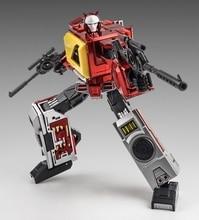 Neue Transformation Spielzeug KFCToys Anteil Transistor Metall Farbe Auf Lager