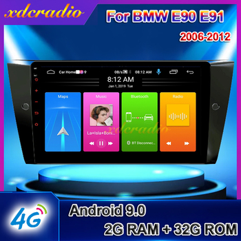 Xdcradio 10.1 Inch Android 10.0 DSP Car Radio Multimedia Video Player For BMW E90 E91 E92 GPS Navigation Autoradio 2018+ image