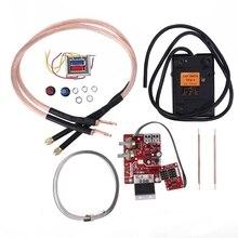 battery spot welding machine digital display control board 100A/40A with spot welding pen, 9V transformer, metal foot pedal