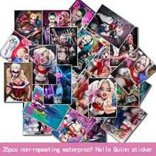 25PCS Not Repeating Strong Sticky Large Personality Fashion Anime Stickers Car Laptop Electric Car Luggage Waterproof Stickers