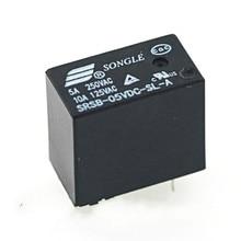 цена на 5pcs Srsb-05 12 24vdc-sl-a 5V 12V 24v5a 4-pin relay