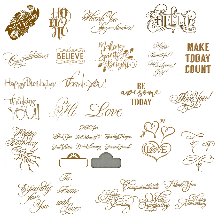 <font><b>Christmas</b></font> Greetings Unique Words Of Art Merry <font><b>Christmas</b></font> Happy New Year Hot Foil Plates For Scrapbooking DIY Paper New Cards image