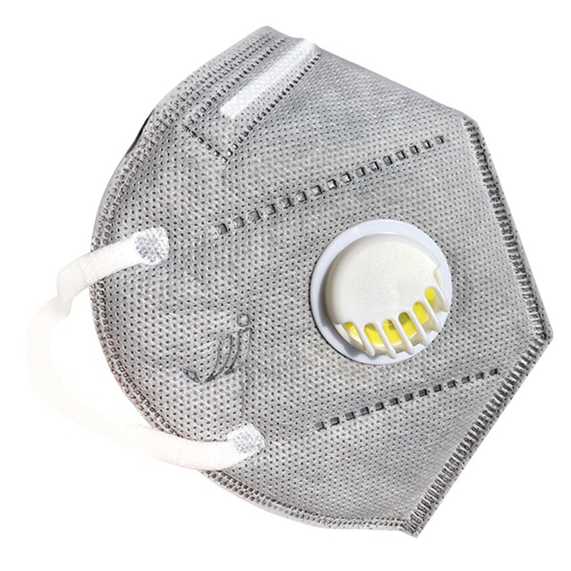 1PC 3D Stereoscopic Mask Half Auti-Dust Face Mask Respirator Safety Protective Anti-fog Breathing Valve Facial Breathable Mask