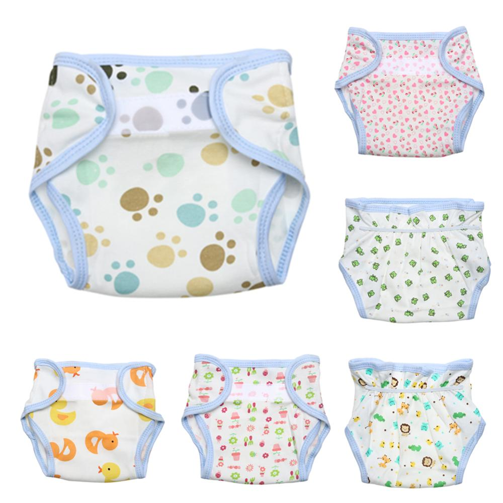 Baby Cotton Cloth Diapers Baby Diapers  Newborn Baby All Seasons Cloth Diaper Cover Adjustable Reusable Washable Nappy