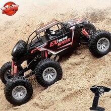 Детский подарок электрический RC автомобиль 1:8 2,4G 150M супер большой 6/4 колеса 6WD 4WD вождения независимая подвеска 360 градусов опрокидывающийся RC автомобиль
