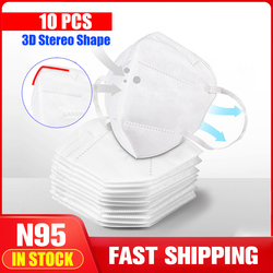 Fast Shipping Mask N95 Mouth Face Disposable Masks Filter for germ protection Thicken Filtraion Cotton Anti Dust pm2.5 Bacteria 1