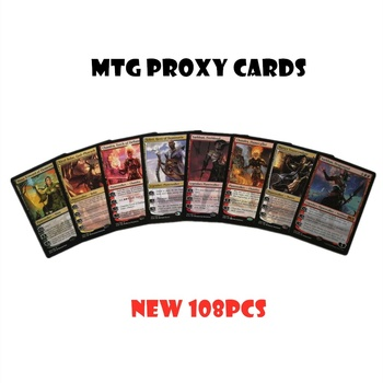 MTG Proxy Card 108pcs Blue Core Magic Cards Mtg Card