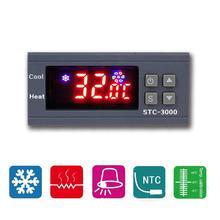 STC-3000 alta precisión 12V 24V 220V termostato Digital controlador de temperatura termómetro Sensor higrómetro