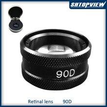 90D offre spéciale lentille asphérique de haute qualité lampe à fente lentille rétine