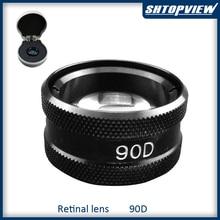 90D горячая распродажа высокое качество асферические линзы щелевая лампа линза Retina