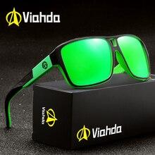 Viahda מקוטב משקפי שמש גברים ספורט משקפי שמש מותג עיצוב משקפי שמש דה סול Masculino gafas עם תיק מקורי