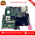 Для acer 5630 5630G 5230 5320 EX5630 EX5230 Материнская плата ноутбука 07245-1M 48.4Z401.01M DDR2 материнская плата полностью проверена
