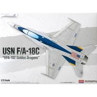 F/A 18 C Hornet carrier aircraft VFA 192 Golden Dragon Assembly model toy