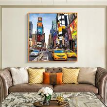 Times Square Jigsaw Picture Puzzles 1000 Pieces Wooden Toys