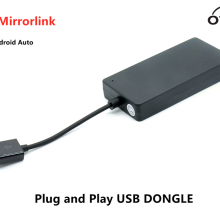 CP60 sans fil CarPlay & Android Auto & Mirrorlink 3 en 1 Plug and Play USB DONGLE