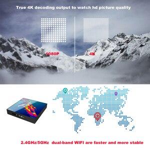 Image 5 - Smart Box Dispositivo de TV inteligente A95X R3, Android 9,0, 4GB de RAM, 64GB de ROM, Wifi, Youtube, reproductor multimedia 4K, Google Play