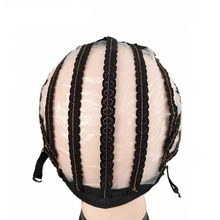 цена на Wholesale Adjustable Weaving Cap for Wig Making Medium Size Mesh Lace Front Wig Cap For DIY Making Wigs Tools Black Color 20pcs