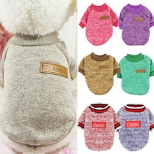 pawstrip Warm Dog Clothes Puppy Jacket Coat Cat Clothes Dog Sweater Winter Dog Coat Clothing For Small Dogs Chihuahua XS-2XL