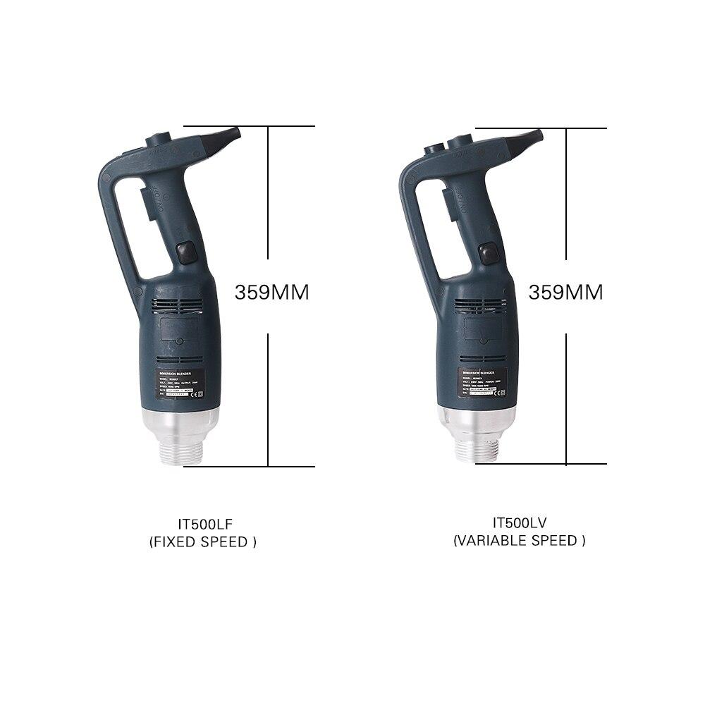 Купить с кэшбэком 500W Hand Blender New Commercial Kitchen Hand Held Blender Immersion Mixer Electric Mount Rack Mixer Juicer Food Processor