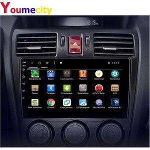 Image 3 - 안드로이드 9.0 차량용 멀티미디어 플레이어 스바루 임 스터 Impreza WRX 2013 2014 2015 라디오 Rds Gps DVD 비디오 IPS BT USB 8 코어