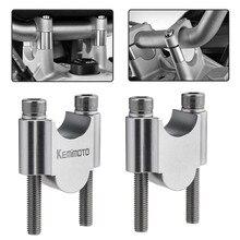 "Motorcycle Handlebar Riser Bar Mount Handle Clamp Universal 28mm 1 1/8"" 22mm 7/8"" For Honda For BMW R1200gs For YAMAHA MT07 MT09"