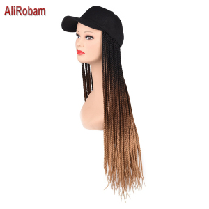 2020 Synthetic Wig Hat Basebal