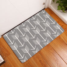 Arrow printed floor mat carpet decoration for living room hallway