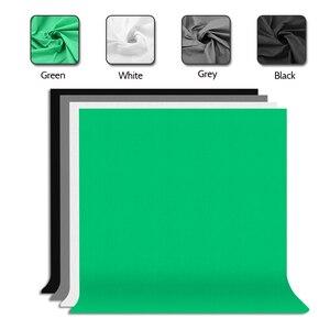 Image 3 - Zuochen 2 × 135w estúdio de fotografia guarda chuvas kit iluminação branco preto verde cinza pano de fundo luz suporte + kit refletor