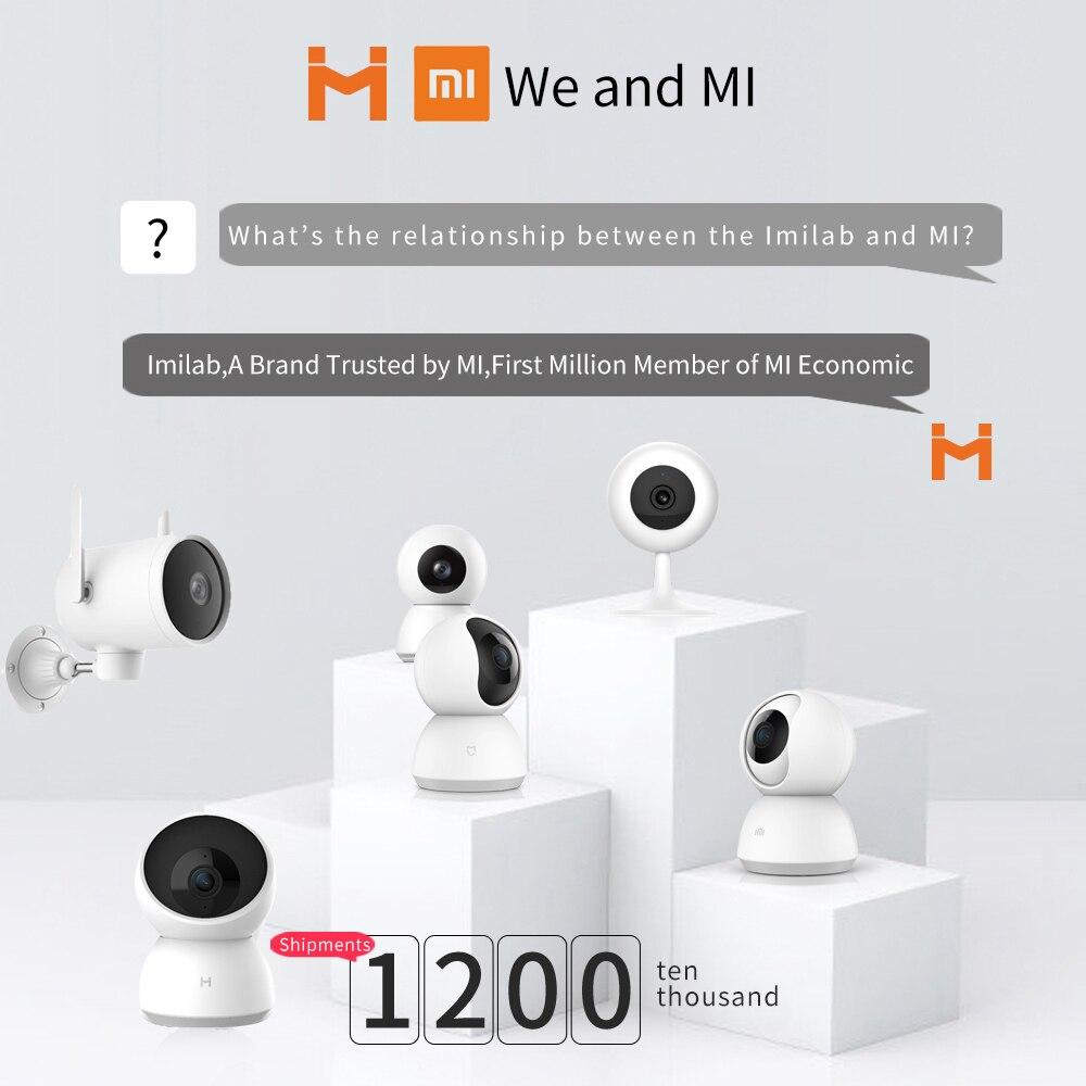 2020 xiaomi Smart Outdoor Camera Waterproof PTZ webcam 270 angle 1080P Dual antenna signal