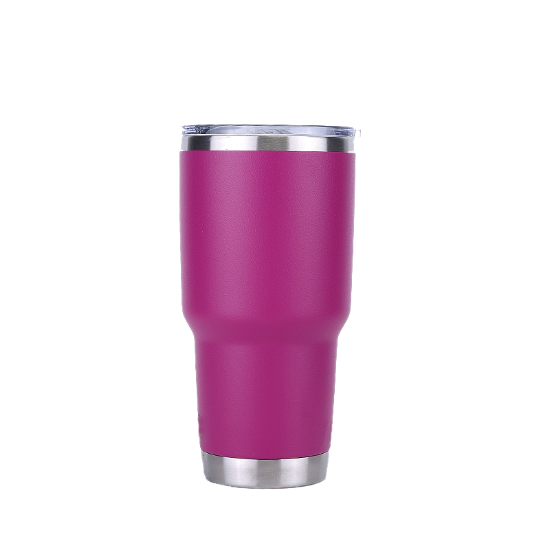 <font><b>20oz</b></font> Stainless Steel Beer Tumbler Birthday Party Gift Tumbler Travel Car Beer <font><b>Mug</b></font> Water Bottle Thermos Coffee <font><b>mugs</b></font> image