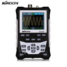 Ds0120m 120mhz largura de banda 500msa/s taxa de amostragem osciloscópio digital com backlight armazenamento de forma de onda 320x240 hd osciloscópio