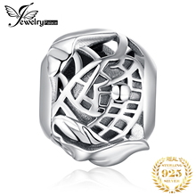 JewelryPalace 925 Sterling Silver Lotus Pond Beads Charms Original For Bracelet original Jewelry Making