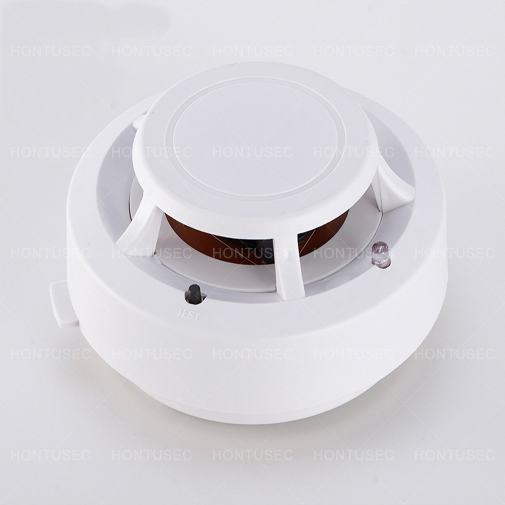 HONTUSEC Alarm Smoke Fire High Sensitive Detector Low Battery Home Security Wireless Alarm Smoke Detector Sensor Fire Equipment