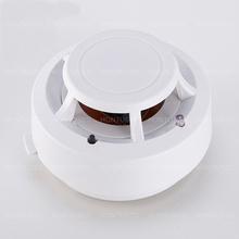 HONTUSEC Alarm dym ogień wysoka wrażliwość detektor niski poziom naładowania baterii bezpieczeństwo w domu bezprzewodowy Alarm czujka dymu czujnik sprzęt pożarowy tanie tanio