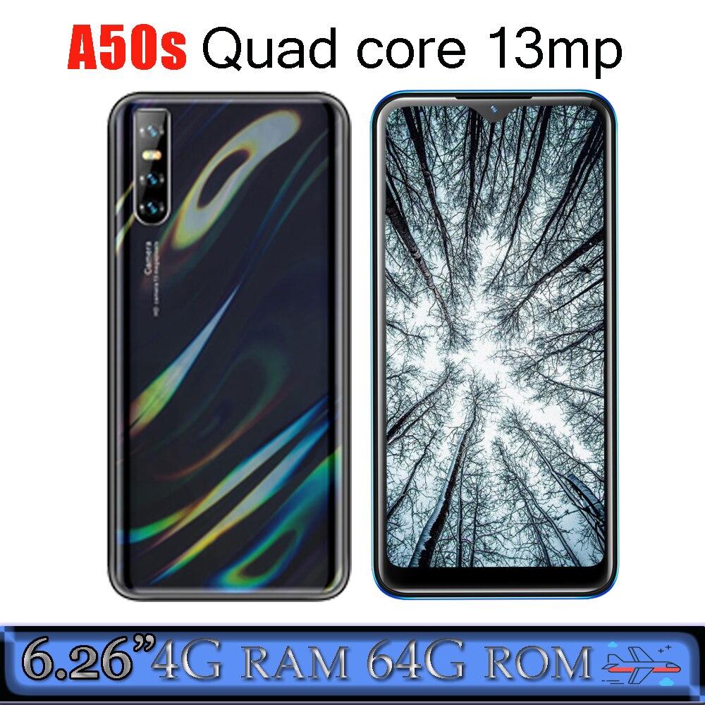 4G Оперативная память мобильных телефонов A50s WCDMA Android 6,26