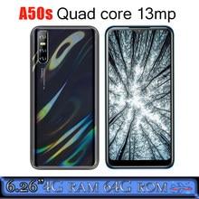 4g ram telefones celulares a50s wcdma android 6.26