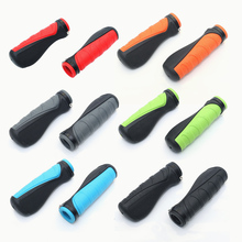 Bicycle Grips Ergonomic Bar End Firm Mount Both Ends Lock Grip Handlebar 6 Color Tone Holder MTB Cycling Hand Rest universal motorcycle handlebar grips ends 7 8 22mm hand bar end for kawasaki z900 z650 z300